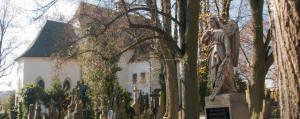 Pohled na kostel svatého Vojtěcha