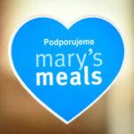 Pozdrav z farní kavárny - podpora Mary's Meals