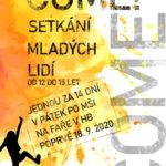 COME! - NOVÉ společenství od 12 do 15 let